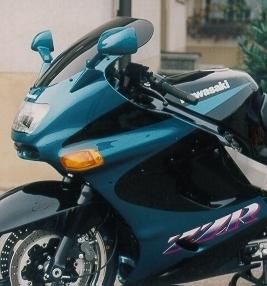 Bulle MRA type origine noire Kawasaki ZZR 1100 93-01