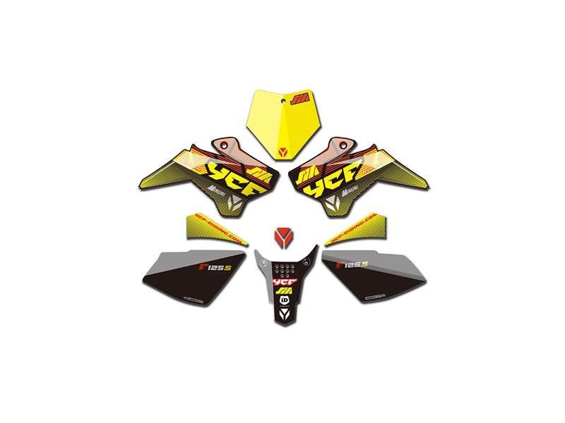 Kit déco YCF pour YCF SM 125S 2017 jaune