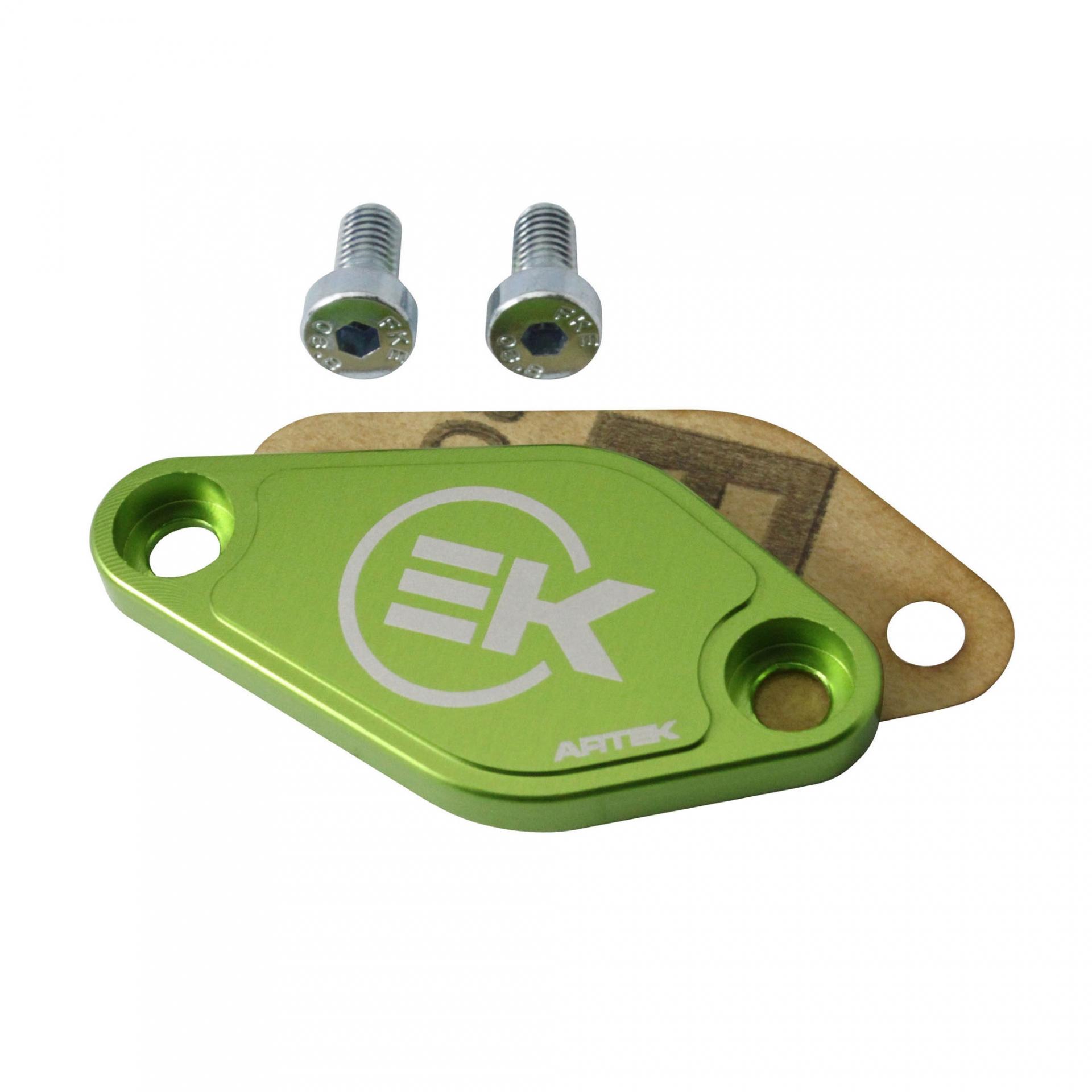 Obturateur pompe a huile Artek Minarelli AM6/Derbi euro 2/3 vert monst