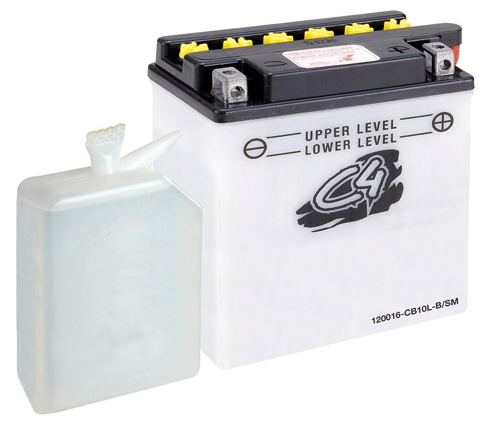 Batterie C4 CB10L-B/SM 12 V 11 Ah