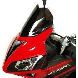 Bulle Bullster double courbure 31 cm fumée noire Honda CBR 125 R 07-12