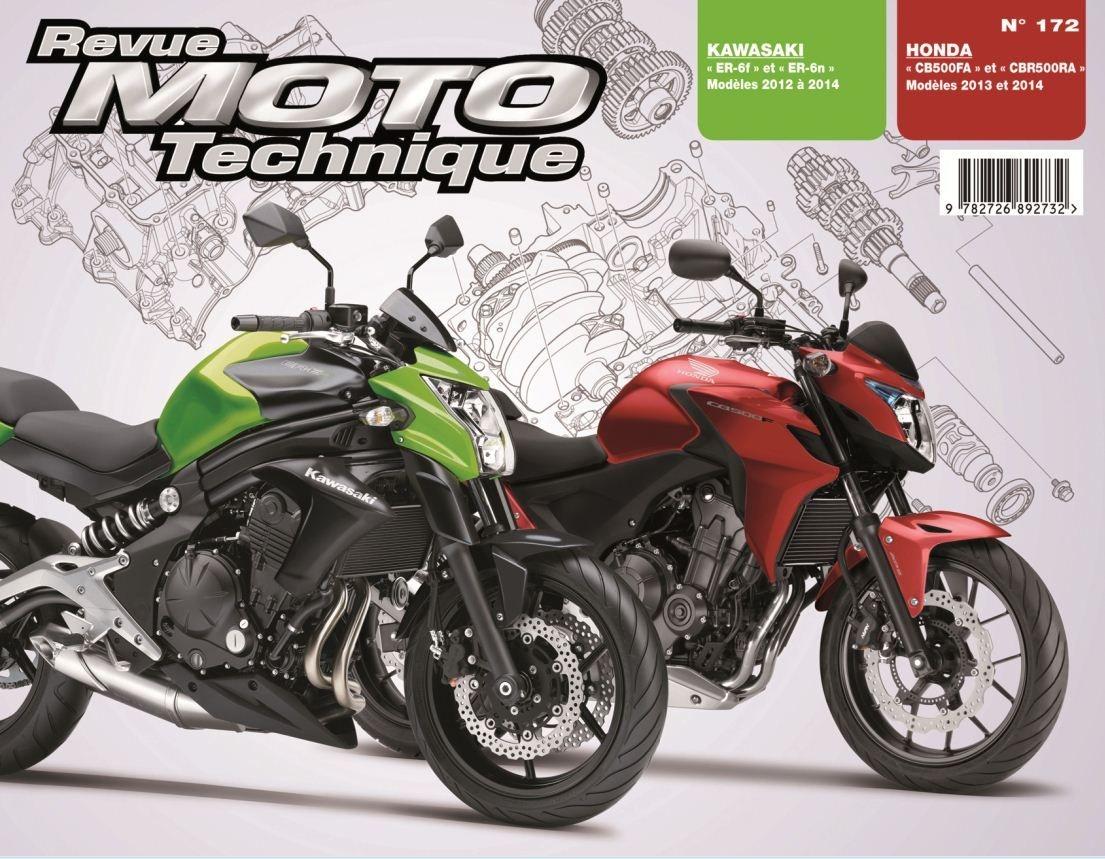 Revue Moto Technique 172 Honda CB / CBR 500 13-14 / Kawasaki ER-6N/F 1