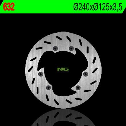 Disque de frein avant droit NG Brake Disc D.240 Derbi DRD Edition 02-0