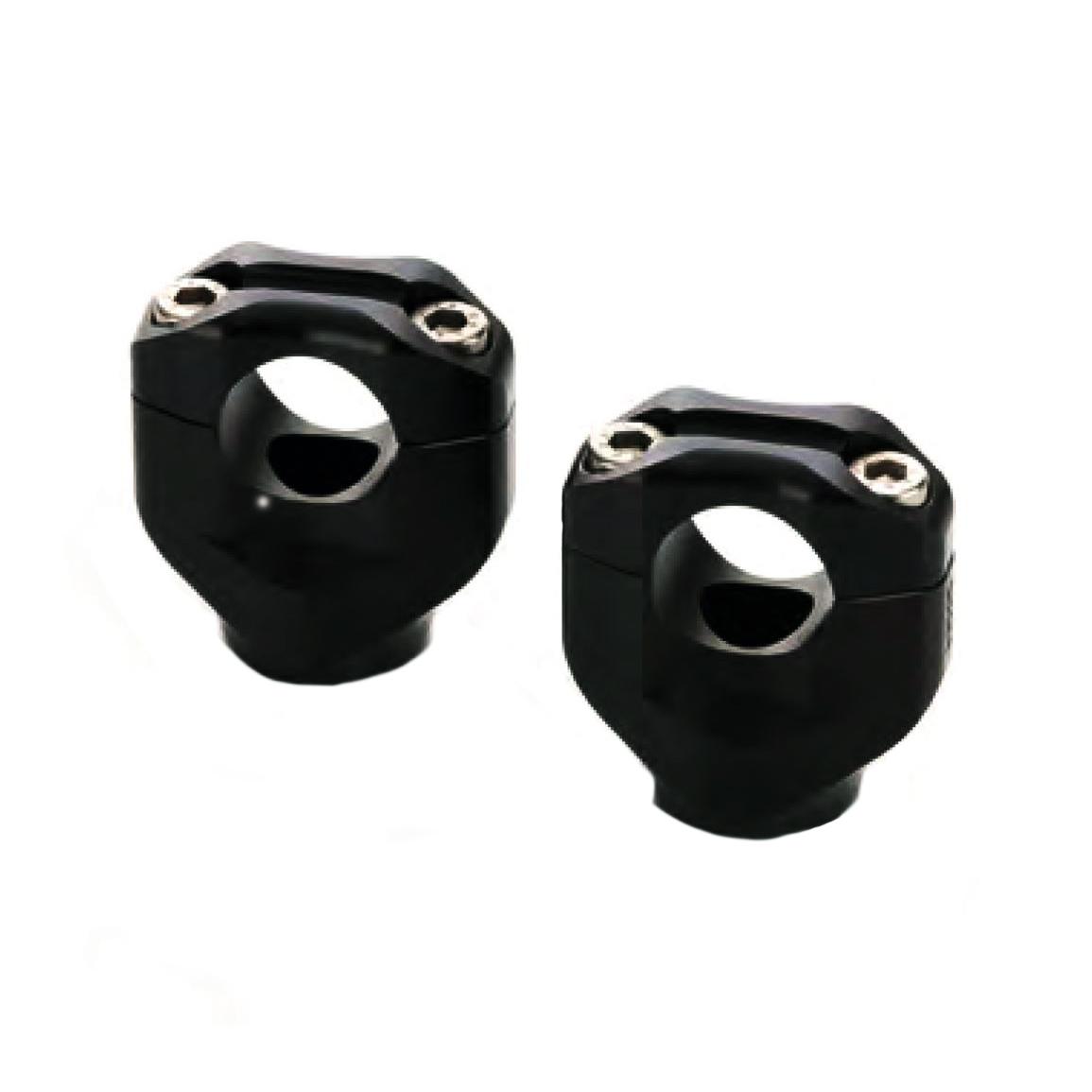 Pontet de guidon LSL Black Bar Mounts noir Ø 22 mm Yamaha MT-07 14-16