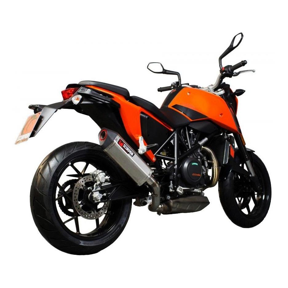 Silencieux Scorpion Serket Inox KTM Duke 690 12-16