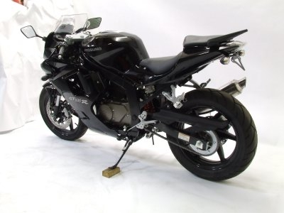 Support de plaque dimmatriculation R&G Racing noir Hyosung GT 125 R 0