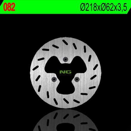 Disque de frein NG Brake Disc D.218 DERBI Fenix 50 de 1995 à 2001 - 08