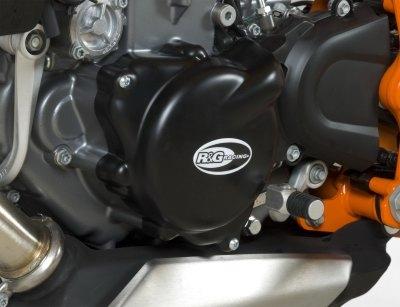 Couvre carter dalternateur R&G Racing noir KTM Duke 690 13-18