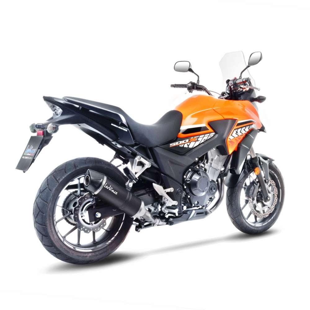 Silencieux Leovince LV One carbone Honda CB 500 X 16-18