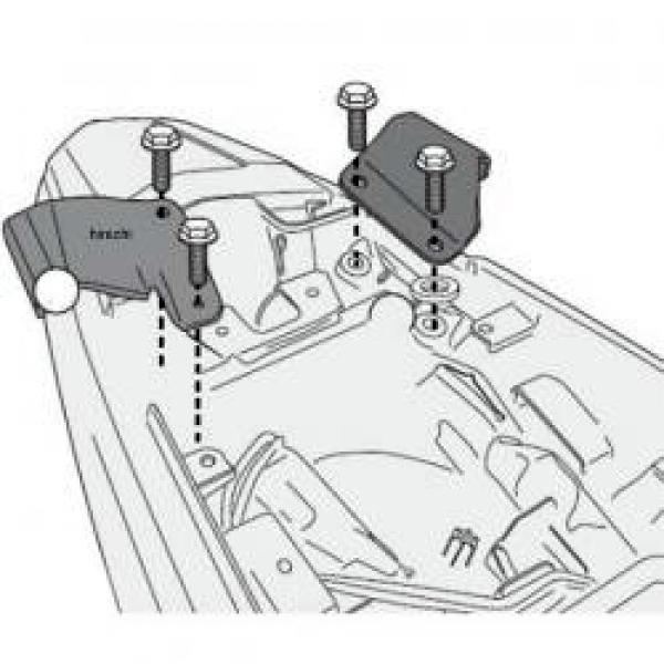 Kit fixation Givi TE/PLX1121 Honda CB 500 X 13-18
