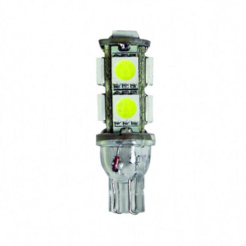 Ampoule Led T10W5W 9 SMD Blanche