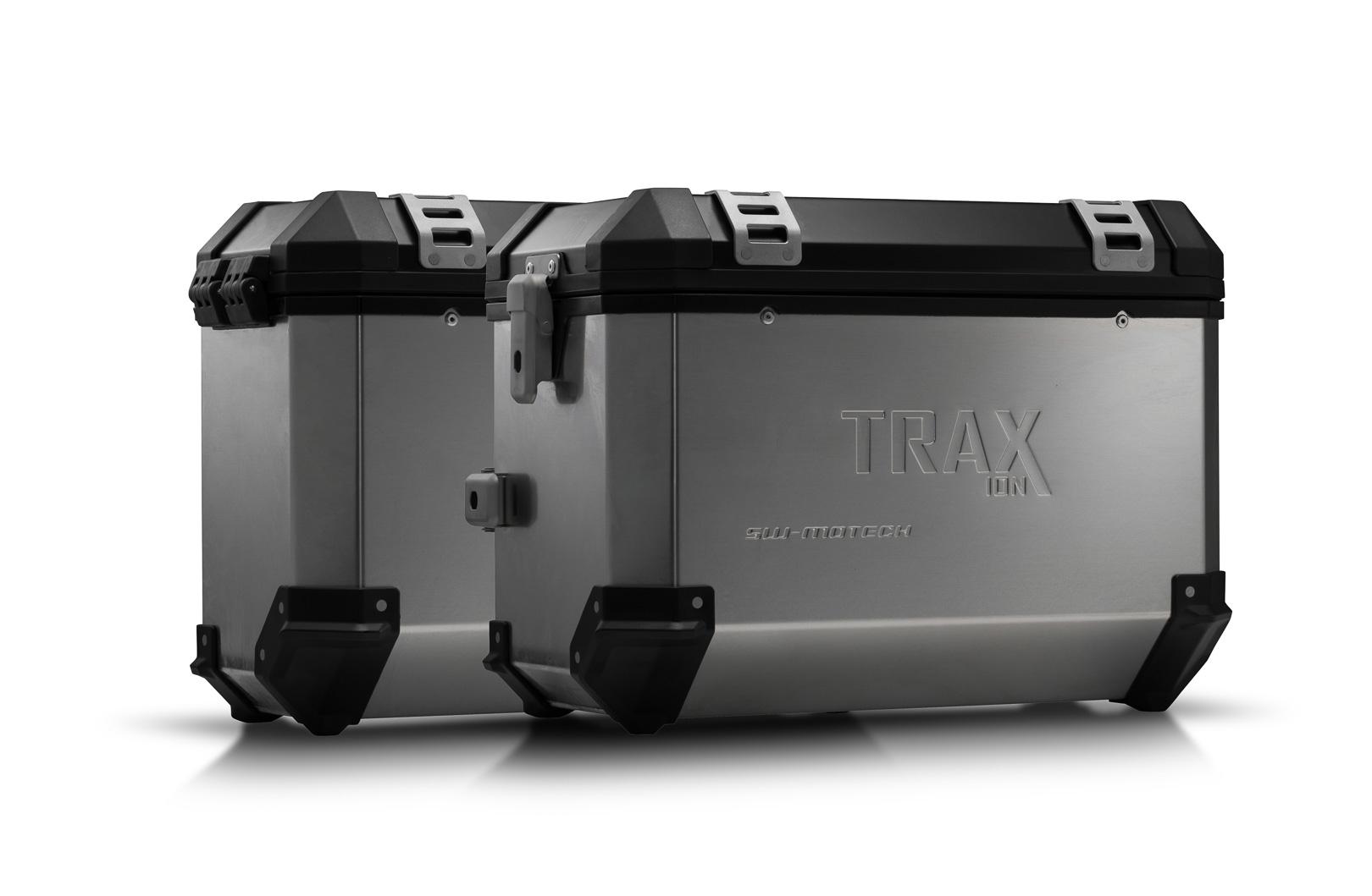 Kit valises SW-Motech Trax ION 37/37L grise Honda CB 500 X 13-18