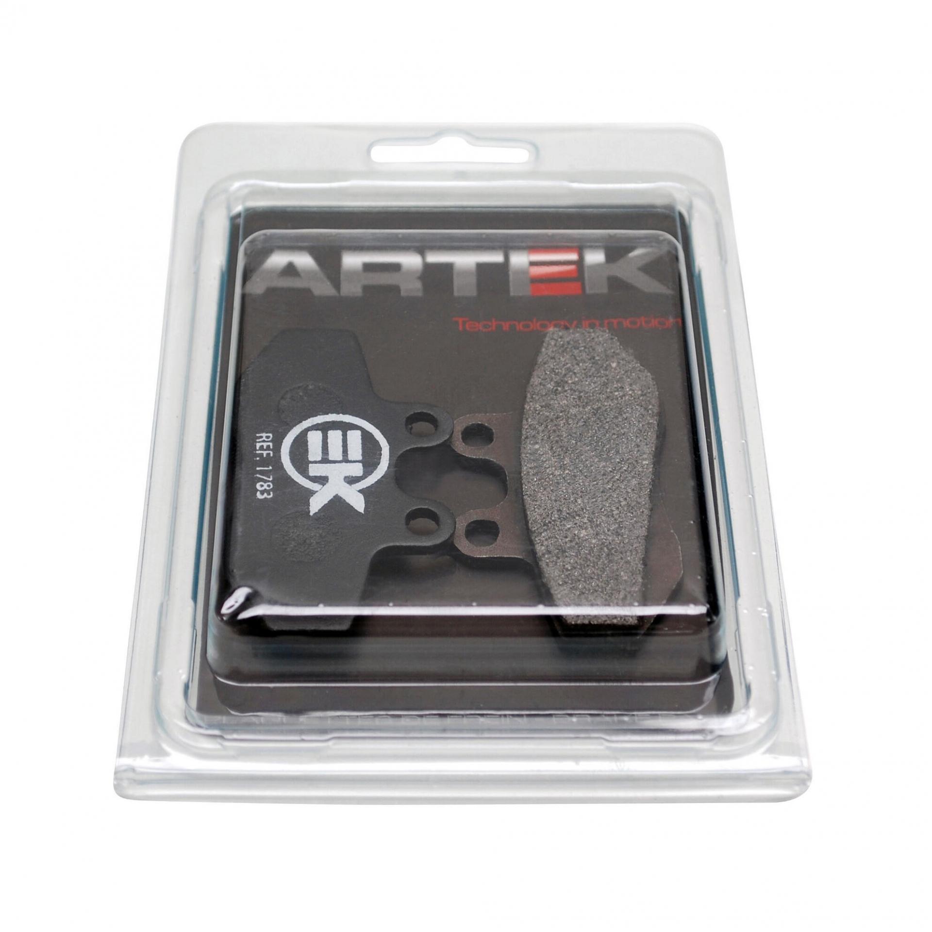 Plaquettes de frein Artek k1 avant pour derbi senda drd 2003>2004/gpr