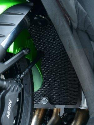 Protection de radiateur noire R&G Racing Kawasaki ZZR 1400 06-18