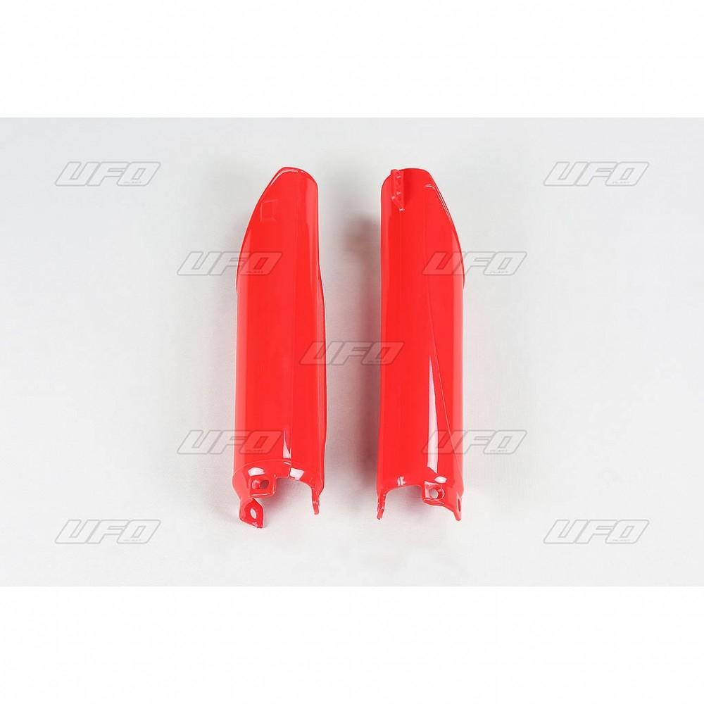 Protection de fourche UFO Honda CR 500R 98-01 rouge (rouge CR 00-12)