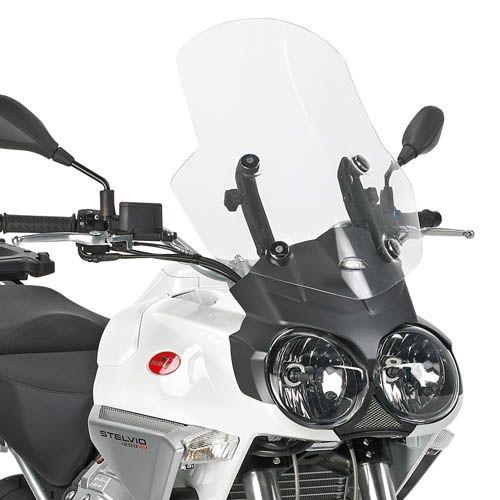 Bulle Givi incolore Moto Guzzi Stelvio 1200 08-16