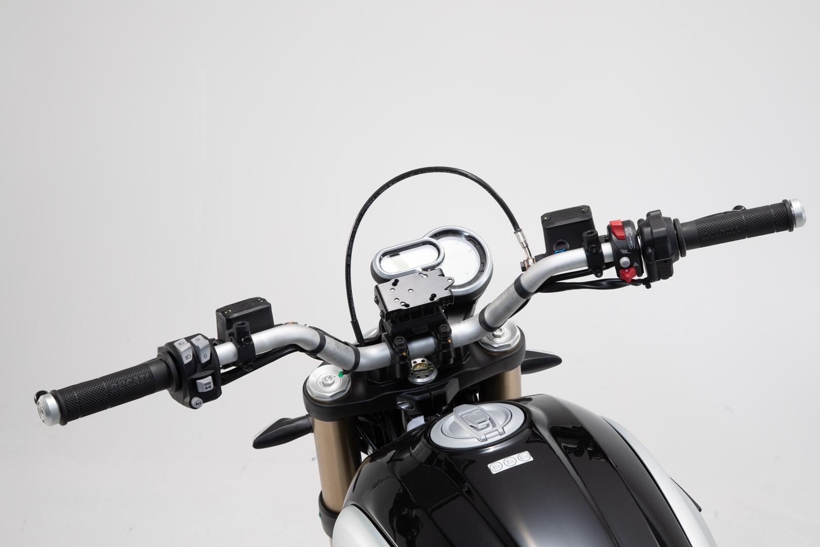 Support GPS SW-Motech Quick-Lock Ducati Scrambler 1100 Sport 2018