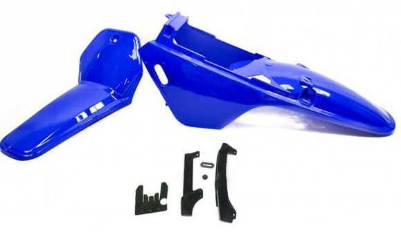 Kit plastiques bleu 3 pièces ART pour Yamaha PW 80