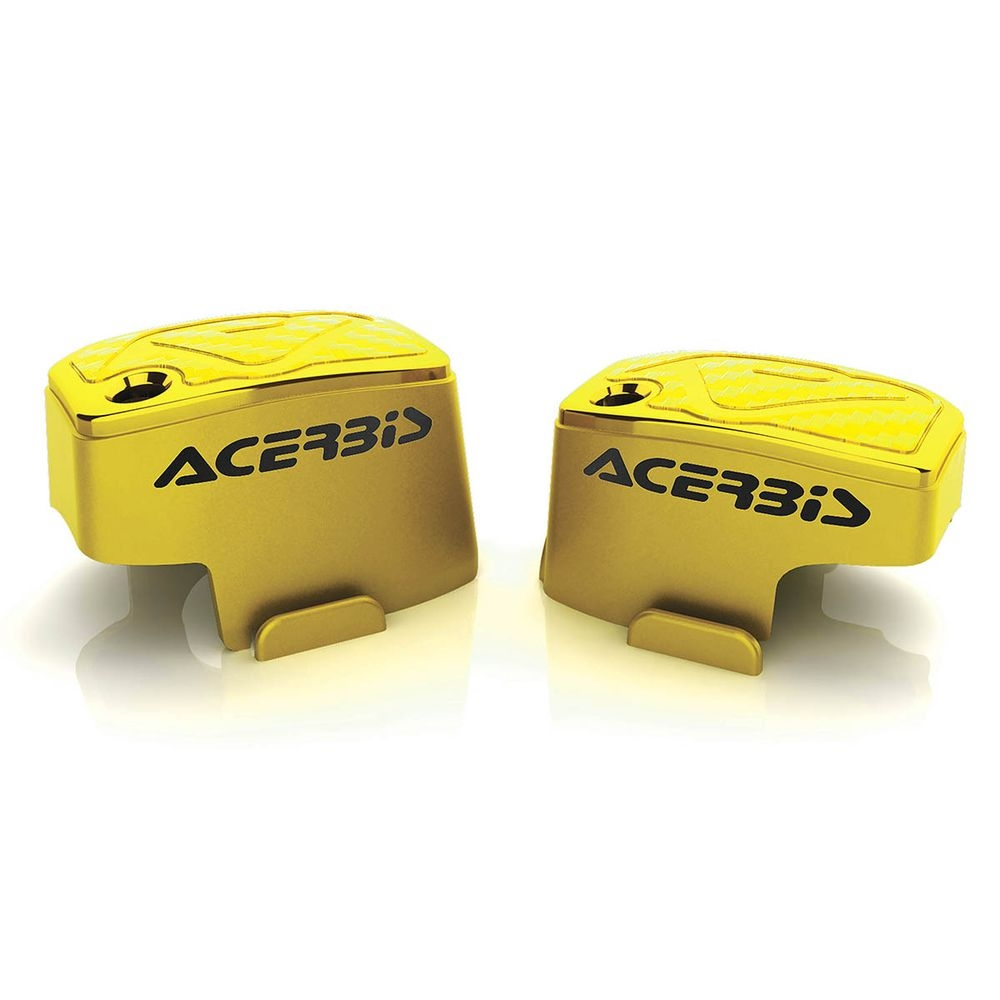 Couvre maître-cylindre Brembo Acerbis jaune