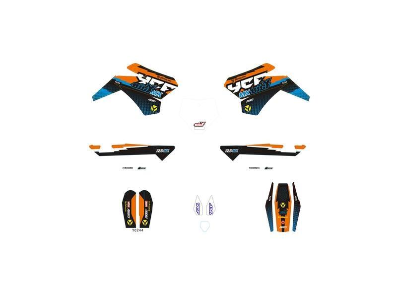 Kit déco YCF Bigy 125 MX 2017