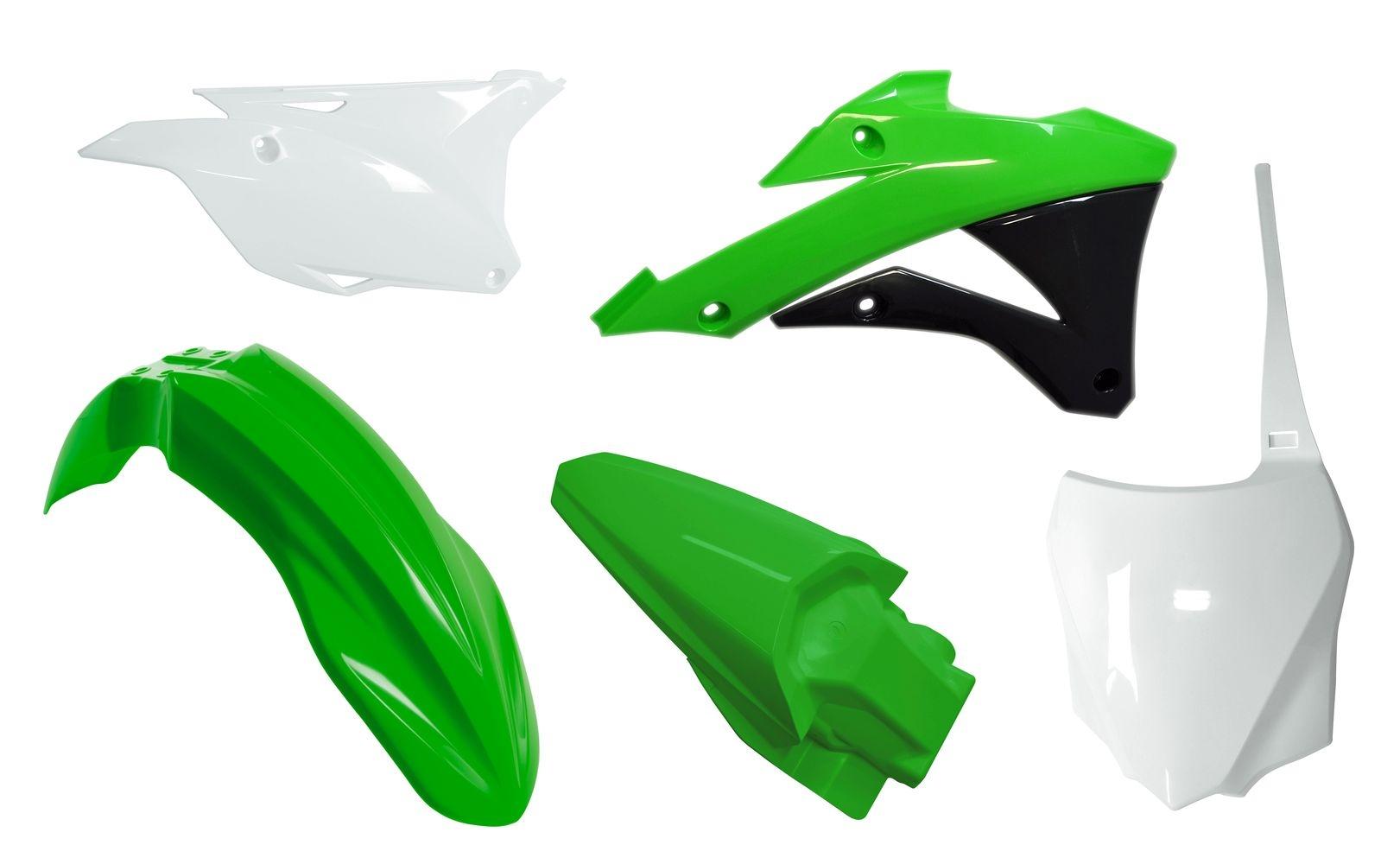 Kit plastique Racetech couleur dorigine pour Kawasaki KX 85 14-16