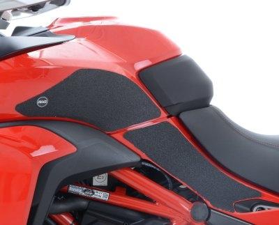 Kit grip de réservoir R&G Racing noir Ducati Multistrada 1200S 15-17
