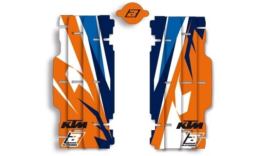 Kit déco de radiateur Blackbird Rockstar Team Trophy réplica 2017 KTM