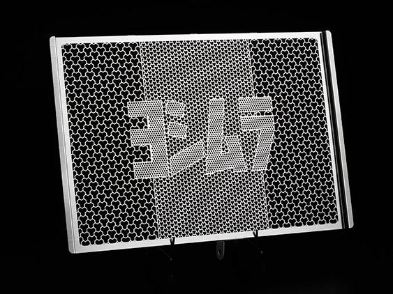 Protection de radiateur d'eau Yoshimura pour Yamaha YZF-R1 09-14