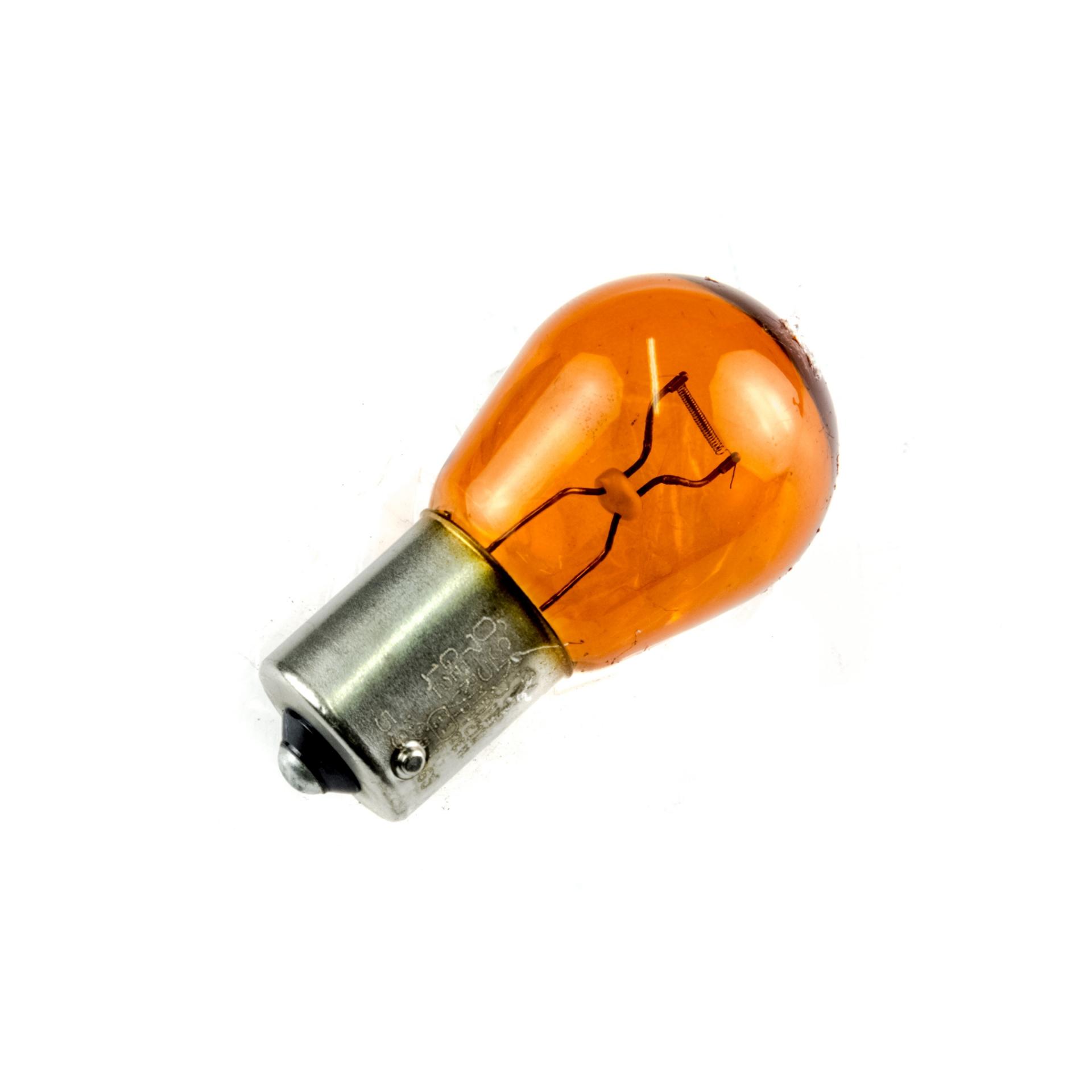 Ampoule Osram PY21W 12V-21W BAU15S ergots décalés orange