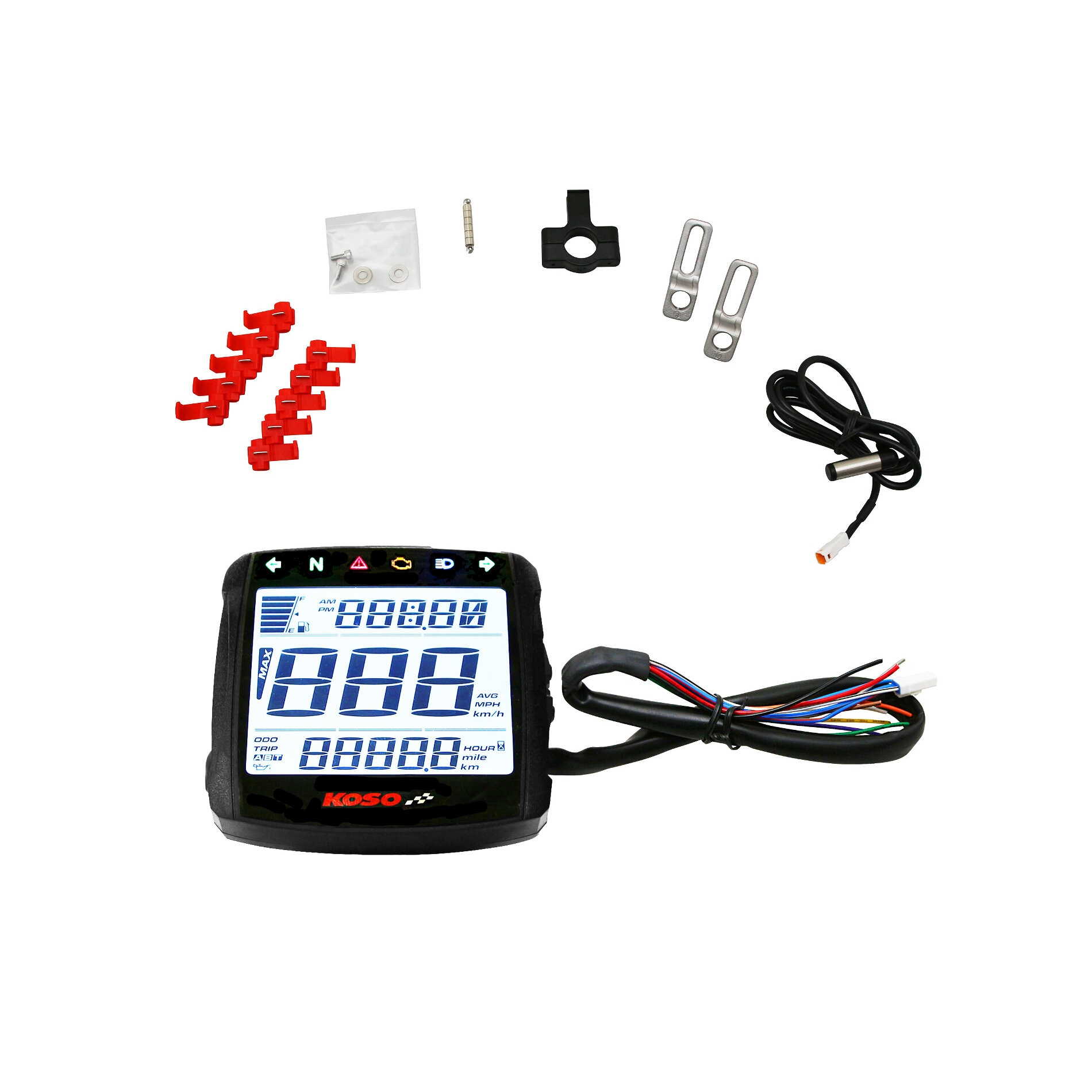 Compteur digital Koso multifonctions XR-01S