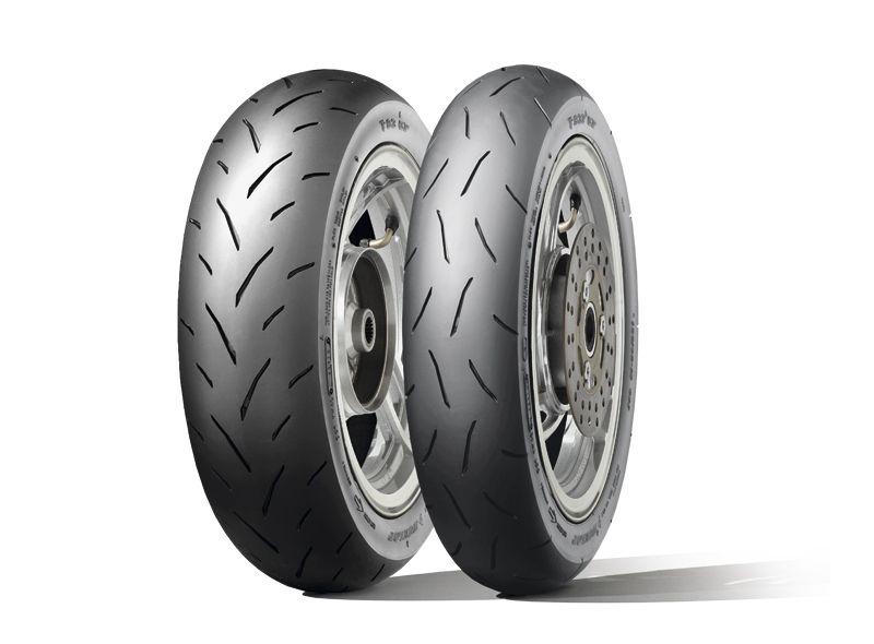 Pneu Dunlop TT93 Gp 90/90-10 TL 50J