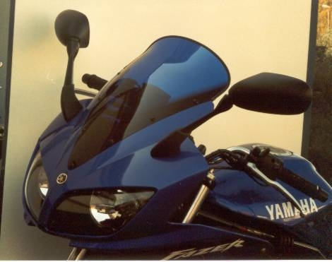 Bulle MRA Touring noire Yamaha FZS 600 Fazer 02-03