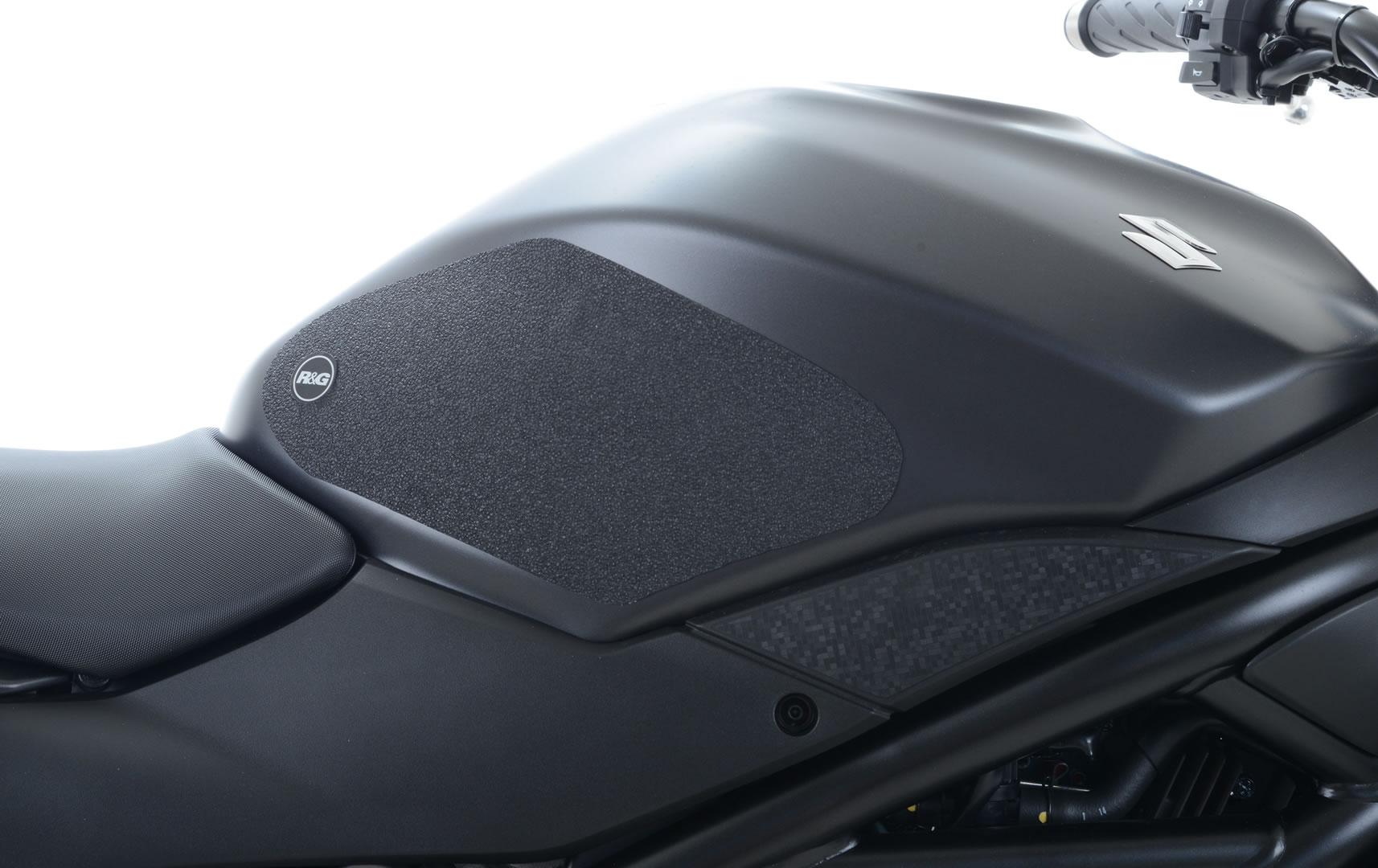 Kit grip de réservoir R&G Racing translucide Suzuki SV 650 16-18