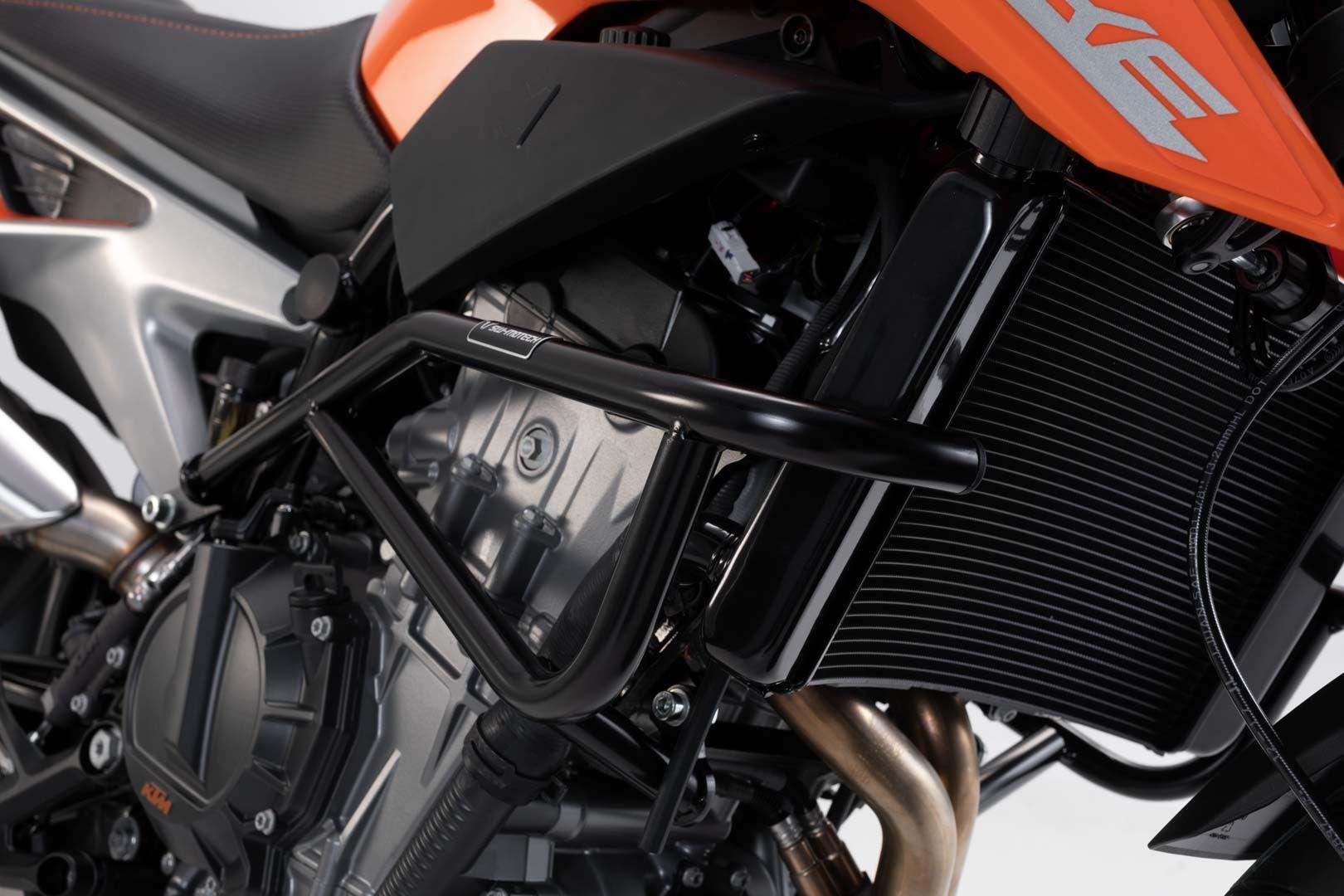 Barres de protection latérale SW-Motech noir KTM 790 Duke 2018
