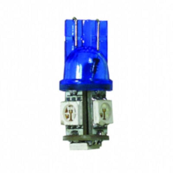 Ampoule Led T10W5W 5 SMD Blanche