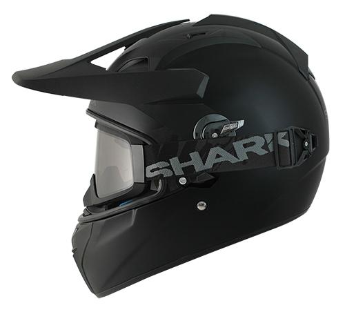 Casque intégral Shark EXPLORE-R BLANK Mat noir - XS