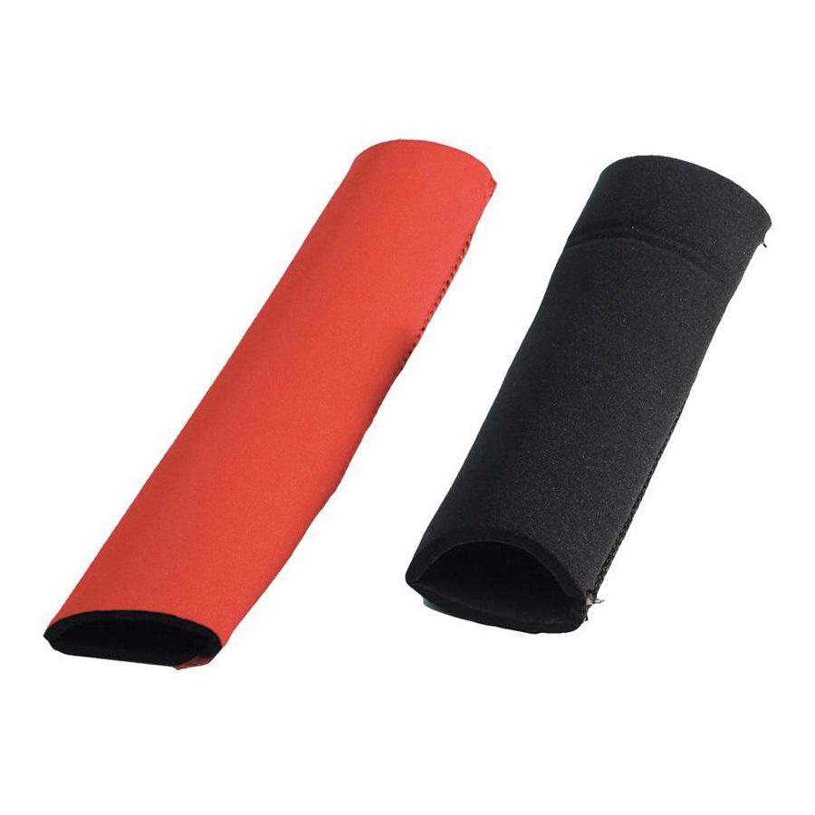 Protection de fourche noir/rouge trial