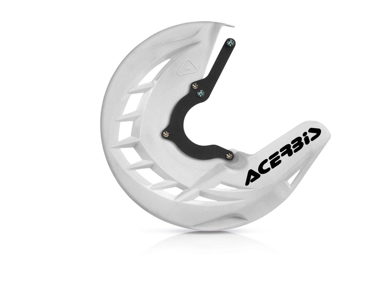 Protège disque de frein avant Acerbis X-BRAKE KTM DUKE 125 blanc