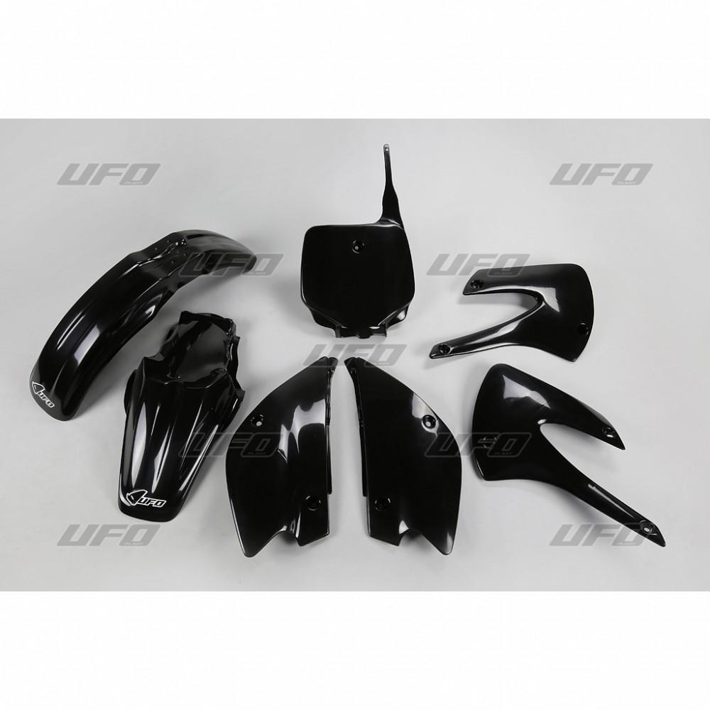 Kit plastique UFO Kawasaki 85 KX 01-12 noir