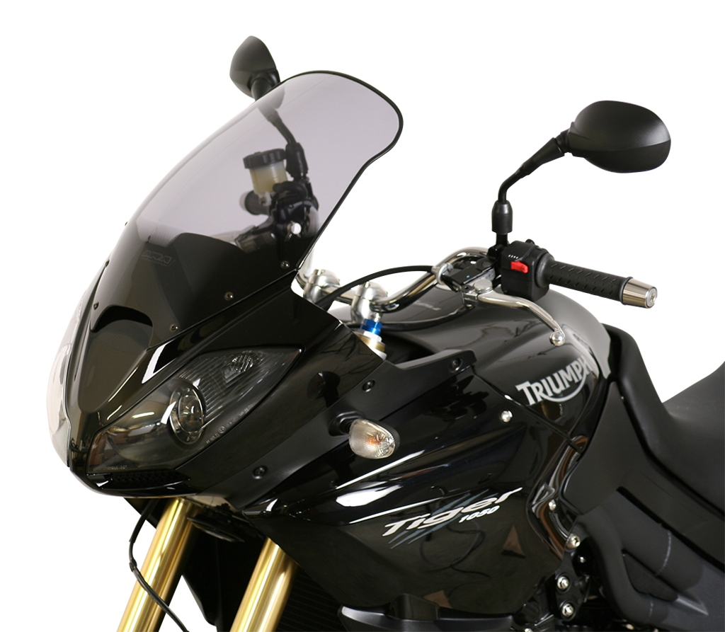 Pare-brise MRA Touring noir Triumph Tiger 1050 07-15