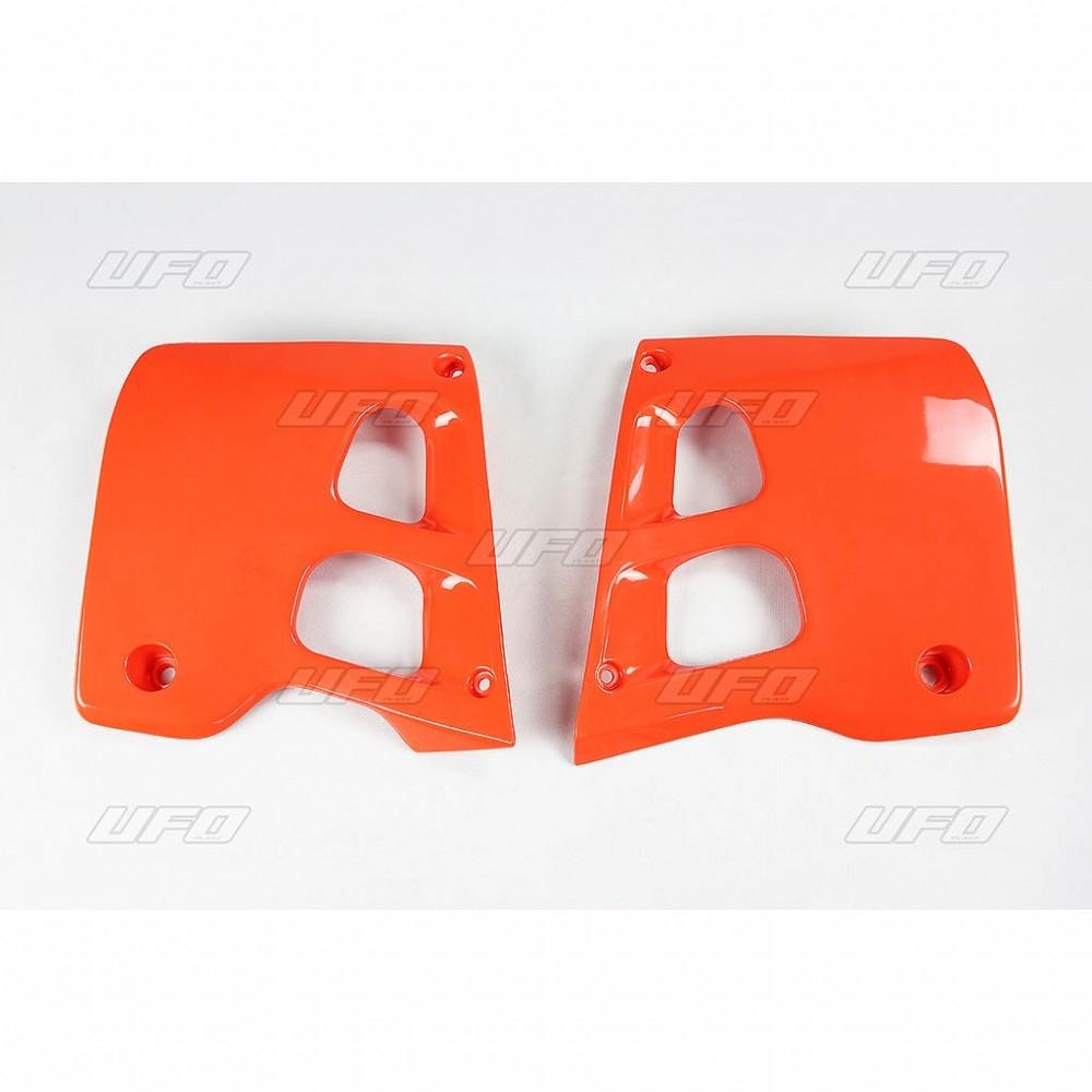 Ouïes de radiateur UFO Honda CR 250R 90-91 orange (orange CR 1990)