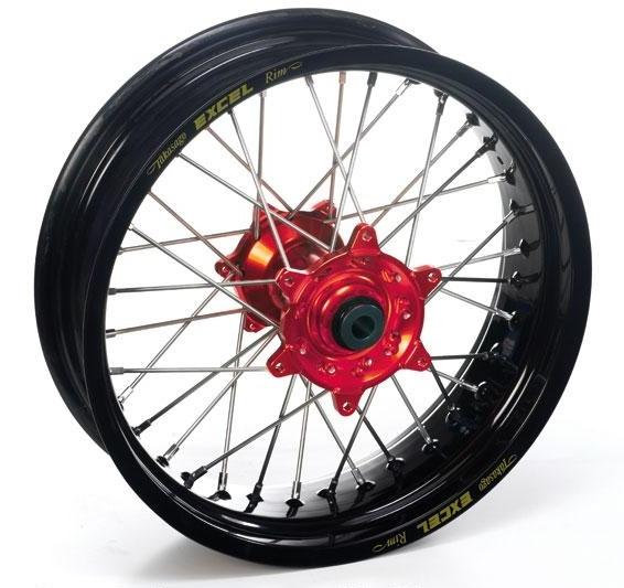 Roue arrière Supermotard Haan Wheels/Excel 17x4,25 Honda CRF 450R 02-1