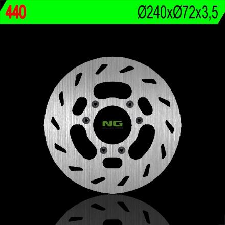 Disque de frein NG Brake Disc D.240 Beta RR SM 50 de 1998 à 2003 - 440