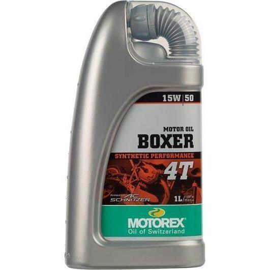 Huile moteur 4T Motorex Boxer 15W50 1L
