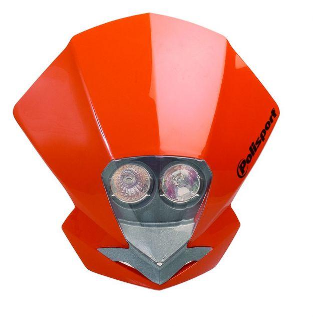 Tête de fourche Polisport EMX Dual halogène - Vert