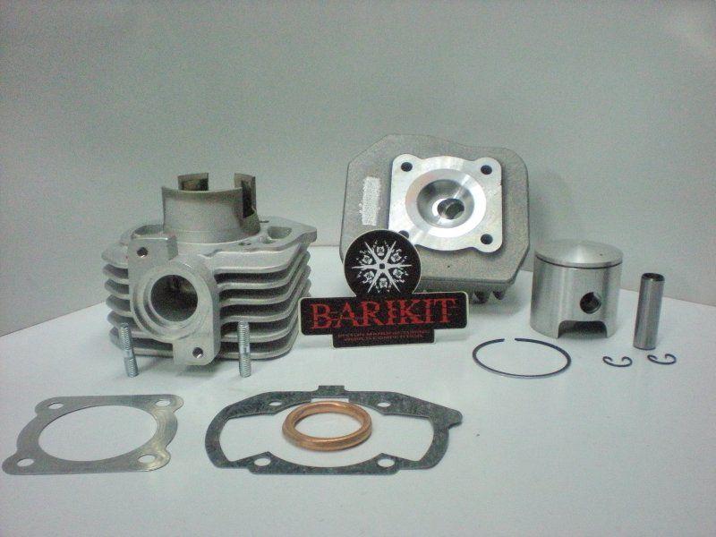 Cylindre Culasse D.39,94 Barikit Aluminium Peugeot Ludix AC 50cc