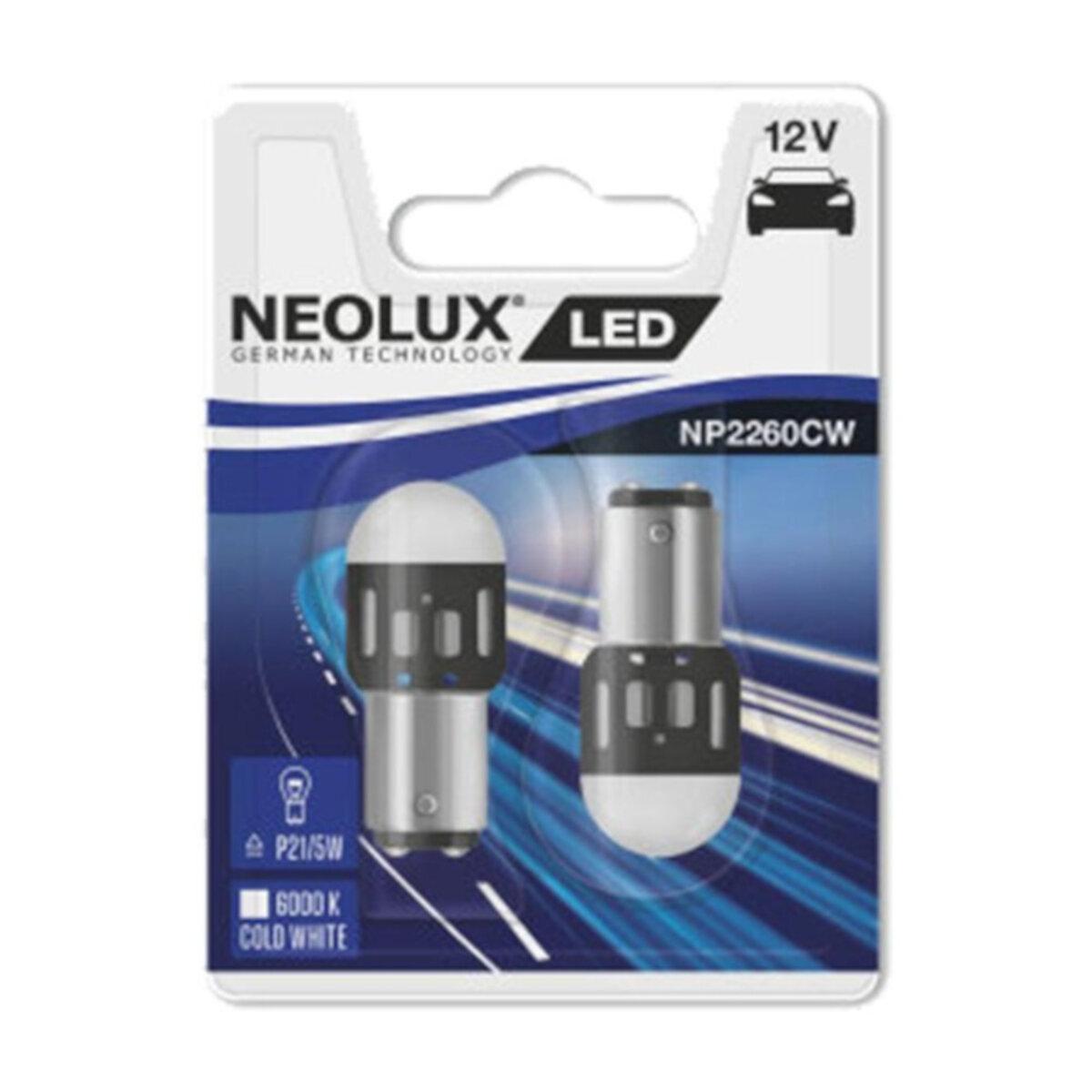 Ampoules Neolux 12V-21/5W BAY15D LED (x2)