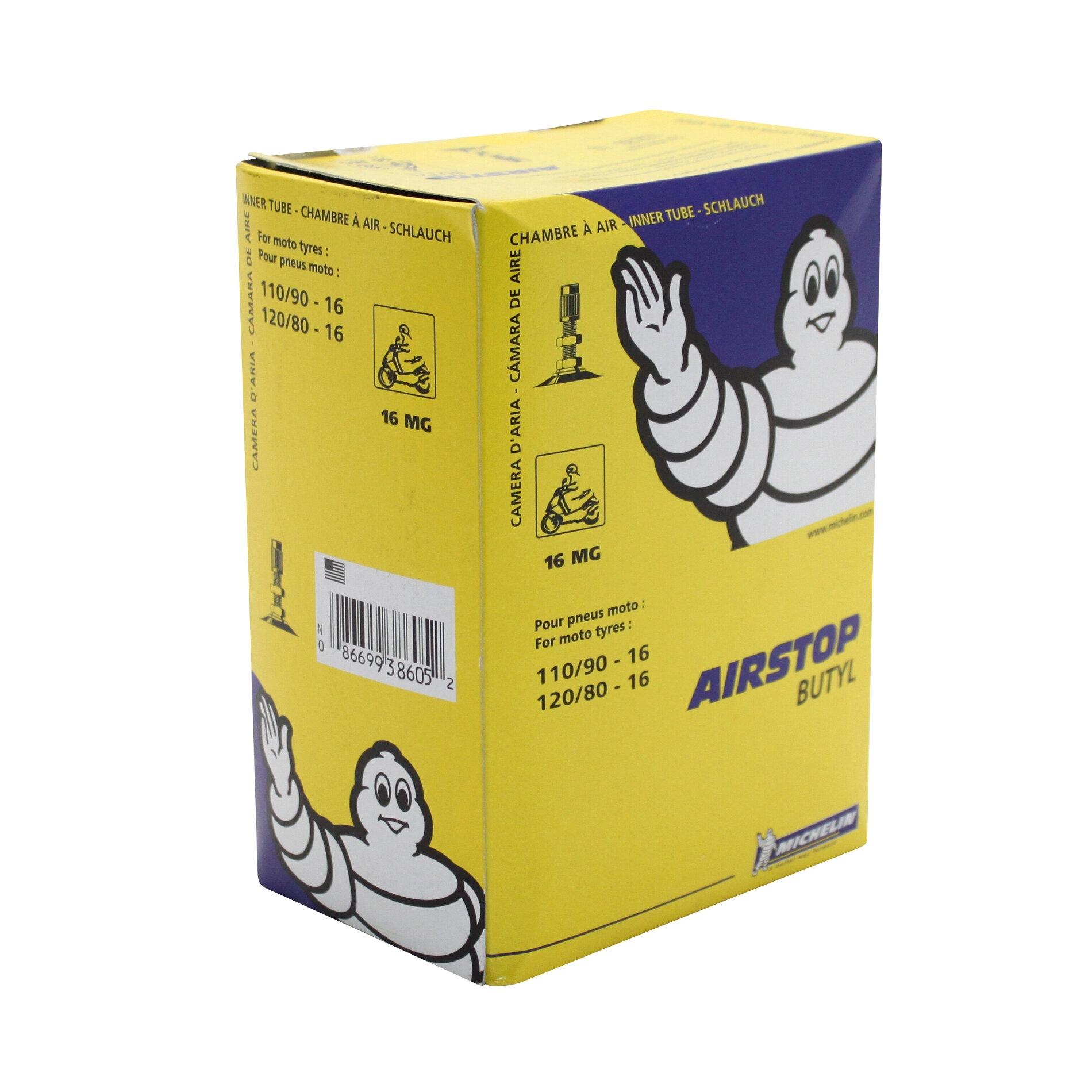 Chambre à air Michelin Street 110/90-16 valve droite TR4