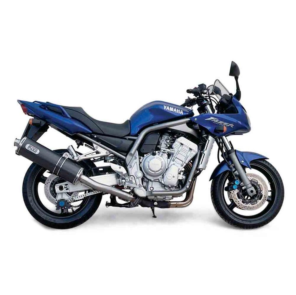 Silencieux MIVV Oval carbone Yamaha FZS1000 Fazer / FZ1 / FZ1 Fazer