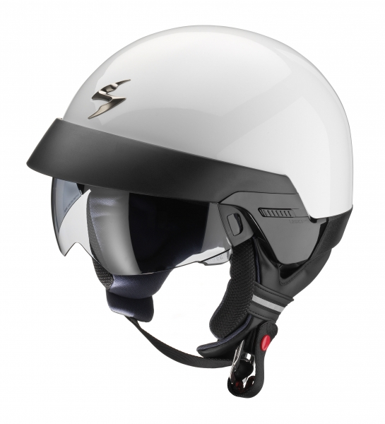 Casque jet Scorpion EXO-100 Blanc - XL